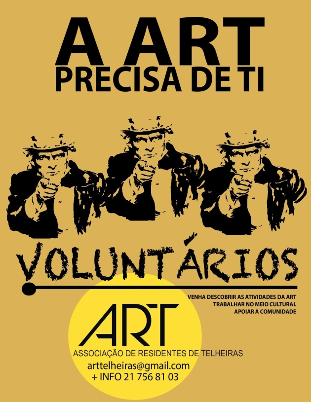 A ART PRECISA DE TI